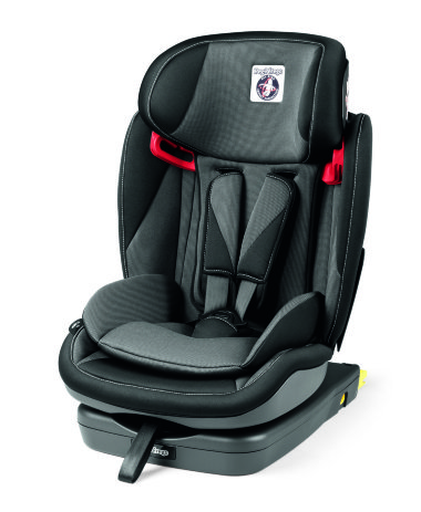 Автокресло Peg-Perego Viaggio 1-2-3 Via Crystal Black — Лучшая мама